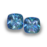thumb image of 1.4ct Cushion-Cut Multicolor Mystic Topaz (ID: 457407)