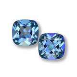 thumb image of 1.4ct Cushion-Cut Multicolor Mystic Topaz (ID: 457595)