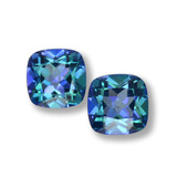 thumb image of 1.4ct Cushion-Cut Multicolor Mystic Topaz (ID: 457599)