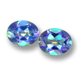 thumb image of 6.1ct Oval Facet Multicolor Mystic Topaz (ID: 462274)