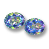 thumb image of 7.6ct Oval Facet Multicolor Mystic Topaz (ID: 462275)
