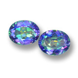 thumb image of 5.8ct Oval Facet Multicolor Mystic Topaz (ID: 462277)
