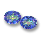 thumb image of 5.9ct Oval Facet Multicolor Mystic Topaz (ID: 462278)