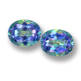 thumb image of 6.4ct Oval Facet Multicolor Mystic Topaz (ID: 462279)