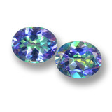 thumb image of 6.2ct Oval Facet Multicolor Mystic Topaz (ID: 462280)