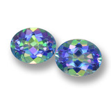 thumb image of 6.5ct Oval Facet Multicolor Mystic Topaz (ID: 462283)