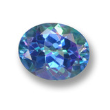 thumb image of 3ct Oval Facet Multicolor Mystic Topaz (ID: 462311)
