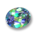 thumb image of 3.7ct Oval Facet Multicolor Mystic Topaz (ID: 462315)