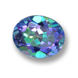 thumb image of 3.5ct Oval Facet Multicolor Mystic Topaz (ID: 462321)