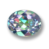 thumb image of 3.1ct Oval Facet Multicolor Mystic Topaz (ID: 462347)