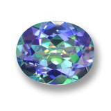 thumb image of 4.2ct Oval Facet Multicolor Mystic Topaz (ID: 462348)