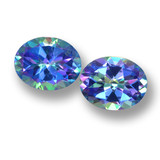 thumb image of 6.2ct Oval Facet Multicolor Mystic Topaz (ID: 462355)