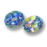 thumb image of 7.2ct Oval Facet Multicolor Mystic Topaz (ID: 462356)