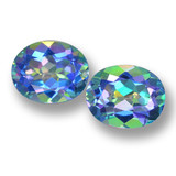 thumb image of 6.3ct Oval Facet Multicolor Mystic Topaz (ID: 462357)
