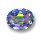 thumb image of 2.8ct Oval Facet Multicolor Mystic Topaz (ID: 462401)