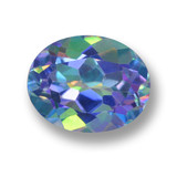 thumb image of 3.2ct Oval Facet Multicolor Mystic Topaz (ID: 462403)