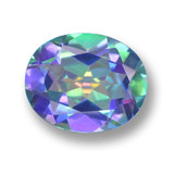 thumb image of 3ct Oval Facet Multicolor Mystic Topaz (ID: 462404)