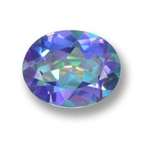 thumb image of 2.9ct Oval Facet Multicolor Mystic Topaz (ID: 462405)