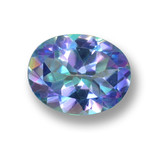 thumb image of 2.7ct Oval Facet Multicolor Mystic Topaz (ID: 462443)