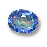 thumb image of 2.8ct Oval Facet Multicolor Mystic Topaz (ID: 462448)