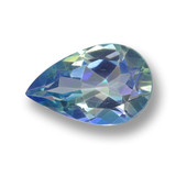 thumb image of 1.3ct Pear Facet Multicolor Mystic Topaz (ID: 462566)