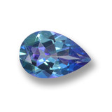 thumb image of 1.4ct Pear Facet Multicolor Mystic Topaz (ID: 462570)