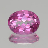 thumb image of 2.1ct Oval Facet Pink Mystic Topaz (ID: 462712)