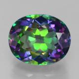 thumb image of 5.2ct Oval Facet Multicolor Mystic Topaz (ID: 466841)