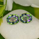 thumb image of 9.6ct Oval Facet Multicolor Mystic Topaz (ID: 466927)