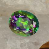 thumb image of 4.5ct Oval Facet Multicolor Mystic Topaz (ID: 466966)