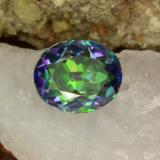 thumb image of 5.2ct Oval Facet Multicolor Mystic Topaz (ID: 466968)