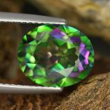 thumb image of 4.5ct Oval Facet Multicolor Mystic Topaz (ID: 467033)