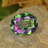 thumb image of 4.6ct Oval Facet Multicolor Mystic Topaz (ID: 467036)