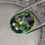 thumb image of 4.4ct Oval Facet Multicolor Mystic Topaz (ID: 467038)