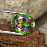 thumb image of 4.5ct Oval Facet Multicolor Mystic Topaz (ID: 467066)