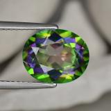 thumb image of 4.7ct Oval Facet Multicolor Mystic Topaz (ID: 467069)