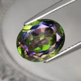 thumb image of 4.7ct Oval Facet Multicolor Mystic Topaz (ID: 467073)