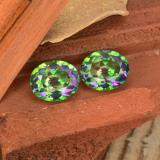 thumb image of 9.7ct Oval Facet Multicolor Mystic Topaz (ID: 467101)