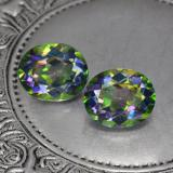 thumb image of 9.9ct Oval Facet Multicolor Mystic Topaz (ID: 467104)