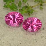 thumb image of 4.5ct Oval Concave Cut Purplish Pink Mystic Topaz (ID: 482885)