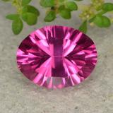 thumb image of 2.1ct Oval Concave Cut Purplish Pink Mystic Topaz (ID: 482914)
