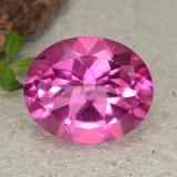 thumb image of 5.4ct Oval Facet Purplish Pink Mystic Topaz (ID: 482942)