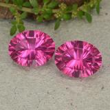 thumb image of 4.1ct Oval Concave Cut Purplish Pink Mystic Topaz (ID: 482953)