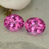 thumb image of 12.1ct Oval Facet Purplish Pink Mystic Topaz (ID: 482966)