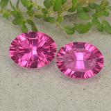 thumb image of 3.9ct Oval Concave Cut Purplish Pink Mystic Topaz (ID: 482992)