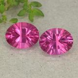 thumb image of 4.3ct Oval Concave Cut Purplish Pink Mystic Topaz (ID: 482996)
