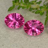 thumb image of 2.1ct Oval Concave Cut Purplish Pink Mystic Topaz (ID: 483004)