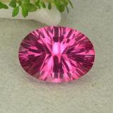 thumb image of 10.1ct Oval Concave Cut Purplish Pink Mystic Topaz (ID: 483036)