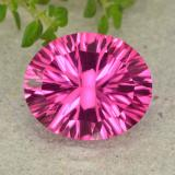 thumb image of 5.2ct Oval Concave Cut Purplish Pink Mystic Topaz (ID: 483073)