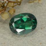 thumb image of 1.4ct Oval Facet Green Mystic Topaz (ID: 483311)